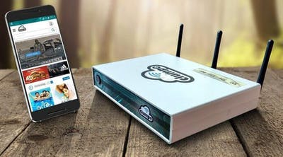Clumpe - WiFi Content Access Point